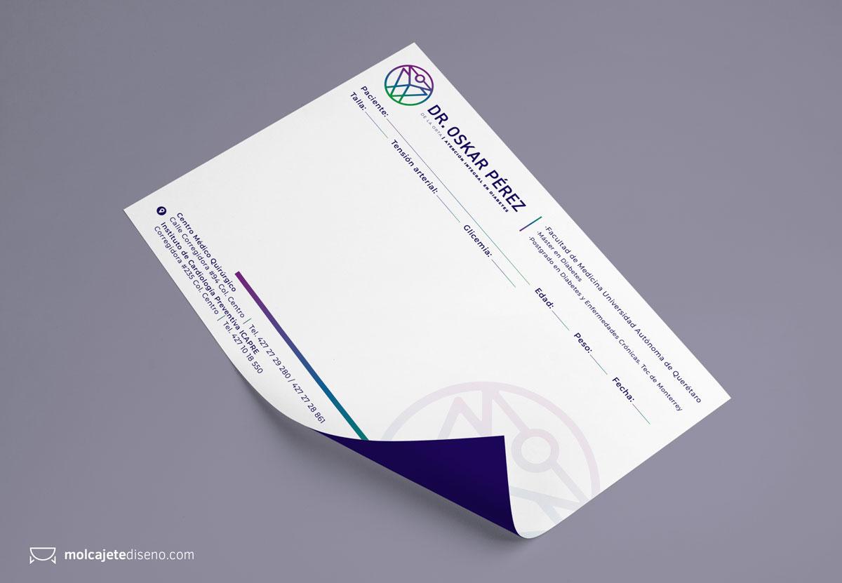 Identidad Corporativa Dr. Oskar Pérez