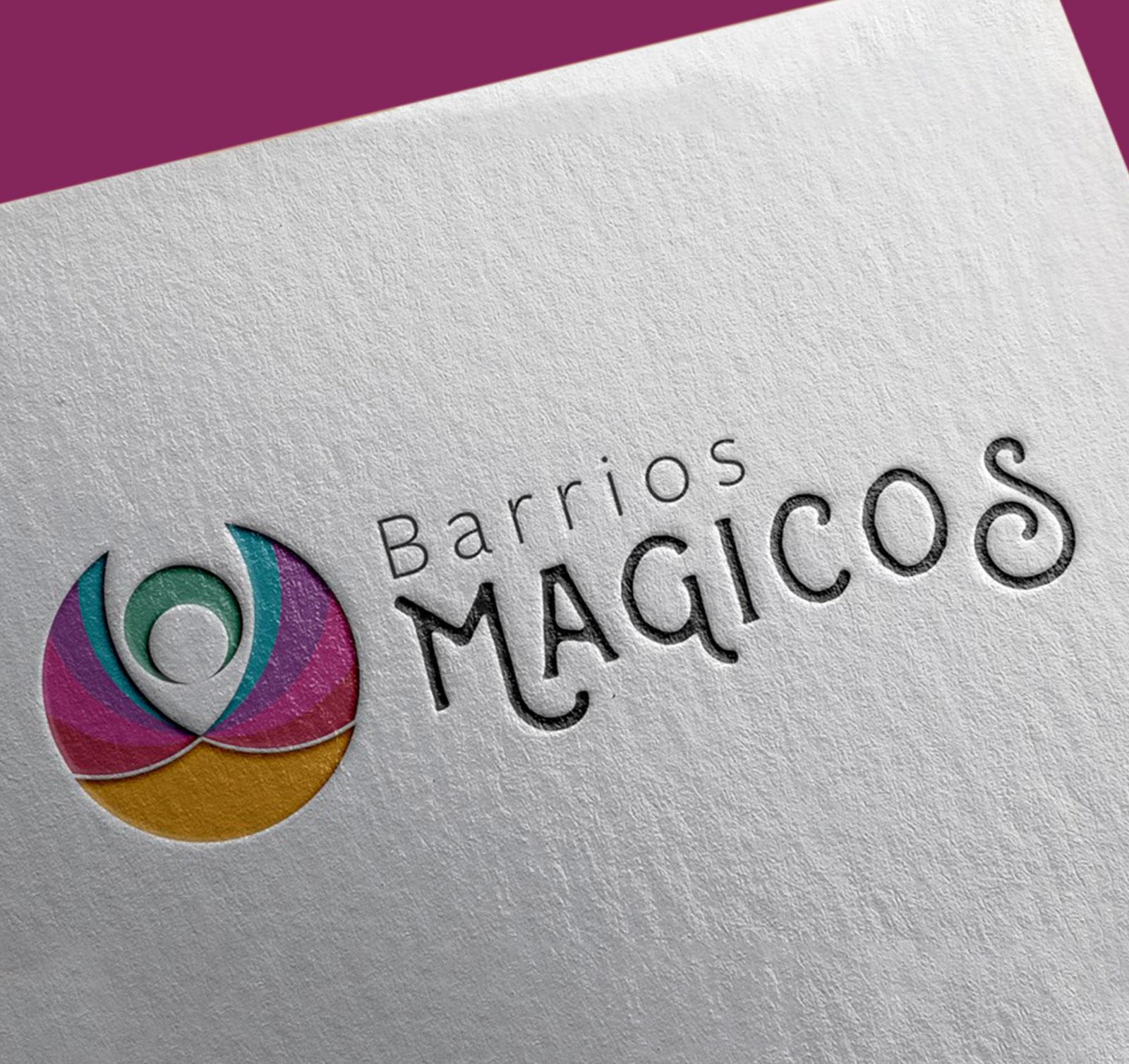 Identidad Corporativa Barrios Magicos