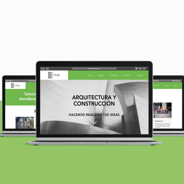 Diseño de sitio web Banah