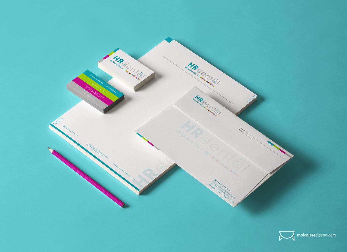 Identidad Corporativa HR Dental