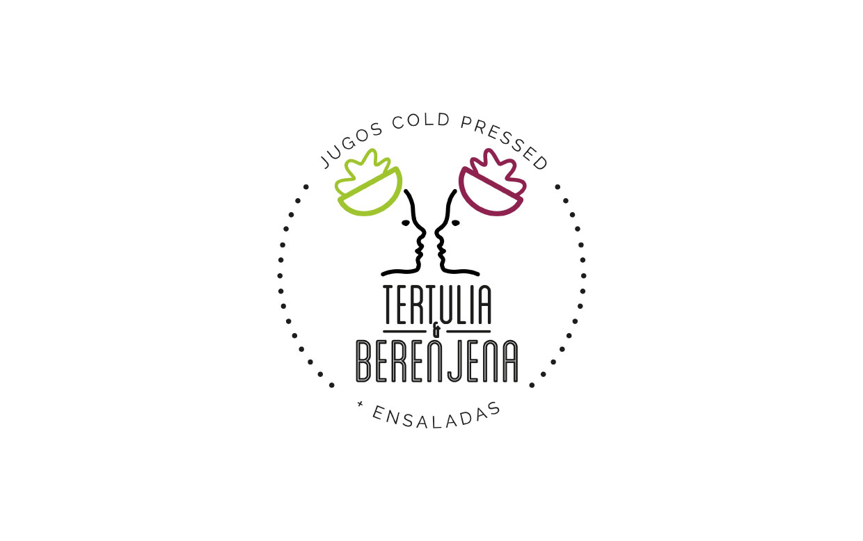 Identidad Corporativa Tertulia y Berenjena