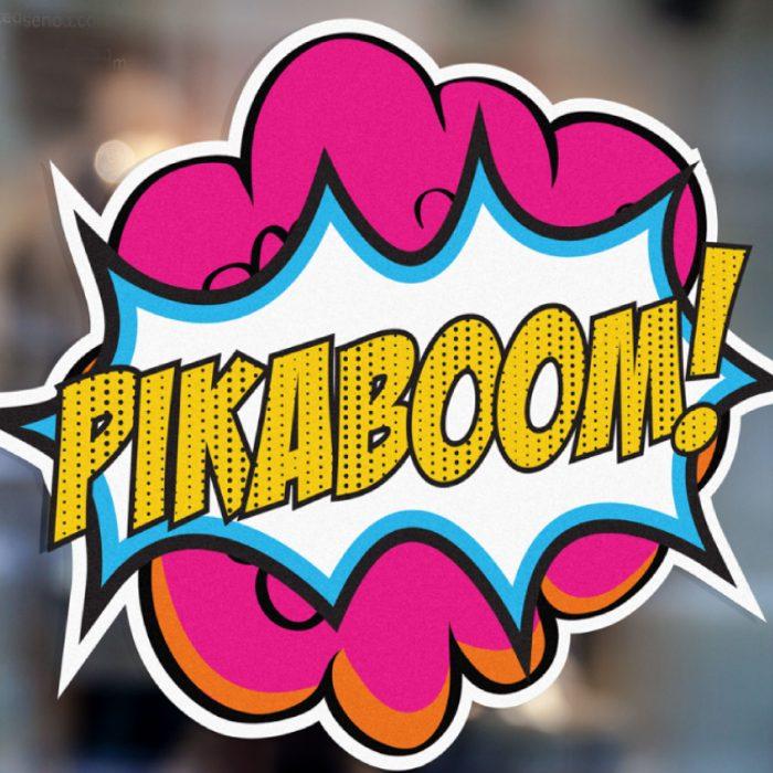 Identidad Corporativa Pikaboom