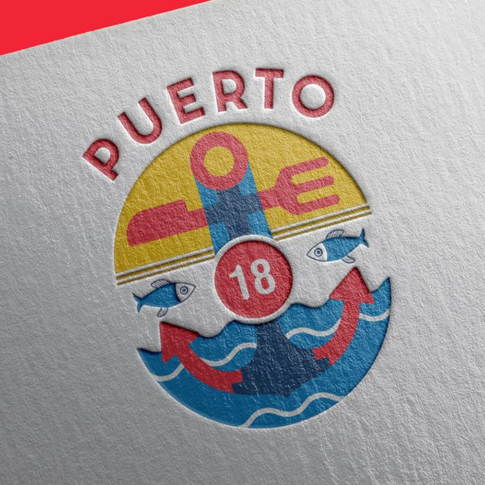 Identidad Corporativa Puerto 18