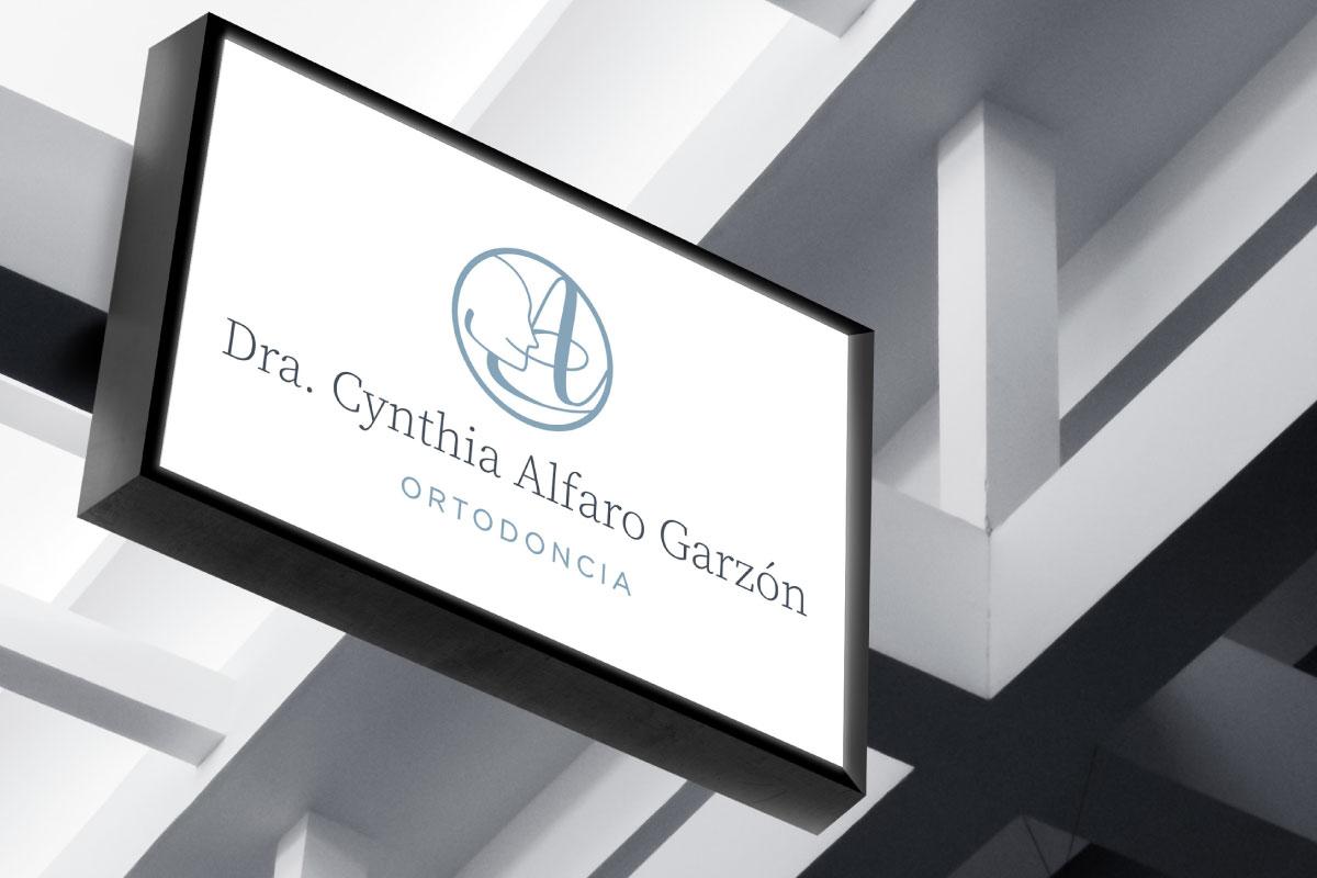Identidad Corporativa Cynthia-Alfaro