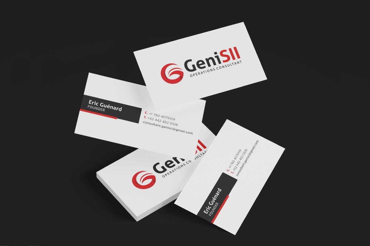 Identidad Corporativa GeniSII